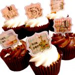 Alice in Wonderland Stand Up cake | cupcake toppers