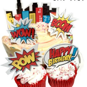 comic-book-super-hero-cake-topper-cupcake-happy-birthda-y