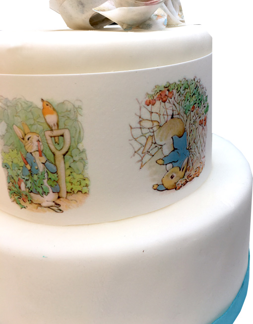 Peter Rabbit Edible Cake Toppers Edible