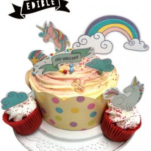 unicorn-edible-cake-cupcake-decoration-stand-up-rice-card-girls-birthday-cake-ideas-510x652
