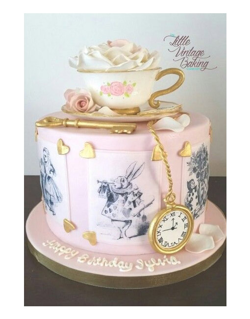 Alice In Wonderland Customers Cake Toppers