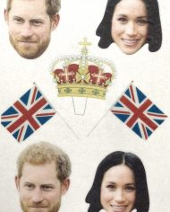 royal-wedding-stand-up-cut-out-wafer-card-cupcake-toppers